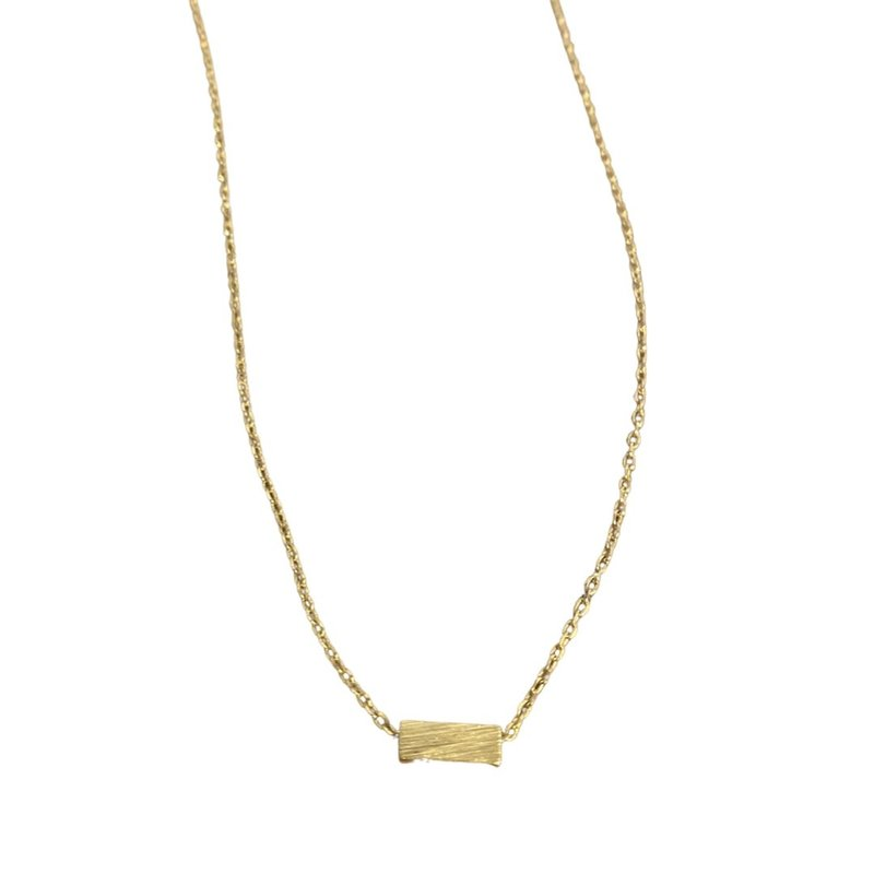 Laura McClendon Short Bar Necklace