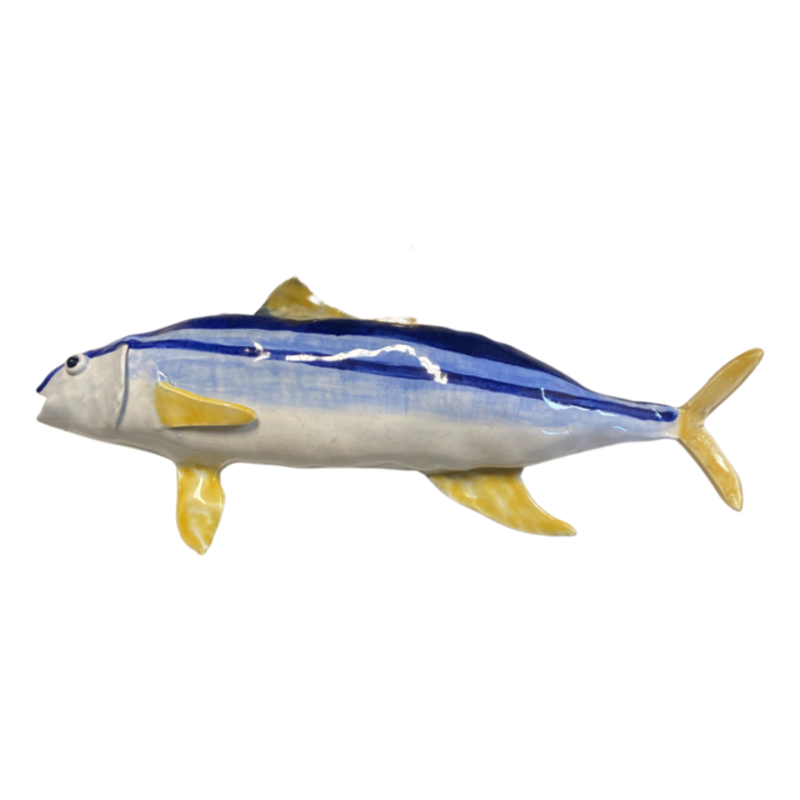 A Fishy Business Ceramic Hand Made Tuna by Suzy Friedrichs