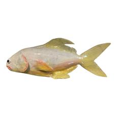 A Fishy Business Ceramic Hand Made Pompano by Suzy Friedrichs