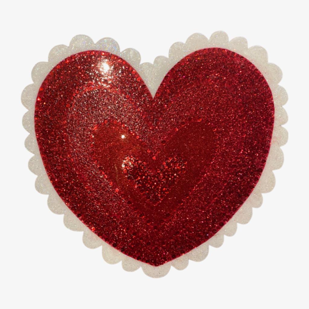 Cynthia Kolls Consignment Cynthia Kolls Resin Valentine Wall Art