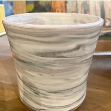 Casey Willems Grey/Pink Swirl Pot