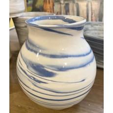Casey Willems Blue Cobalt Vase