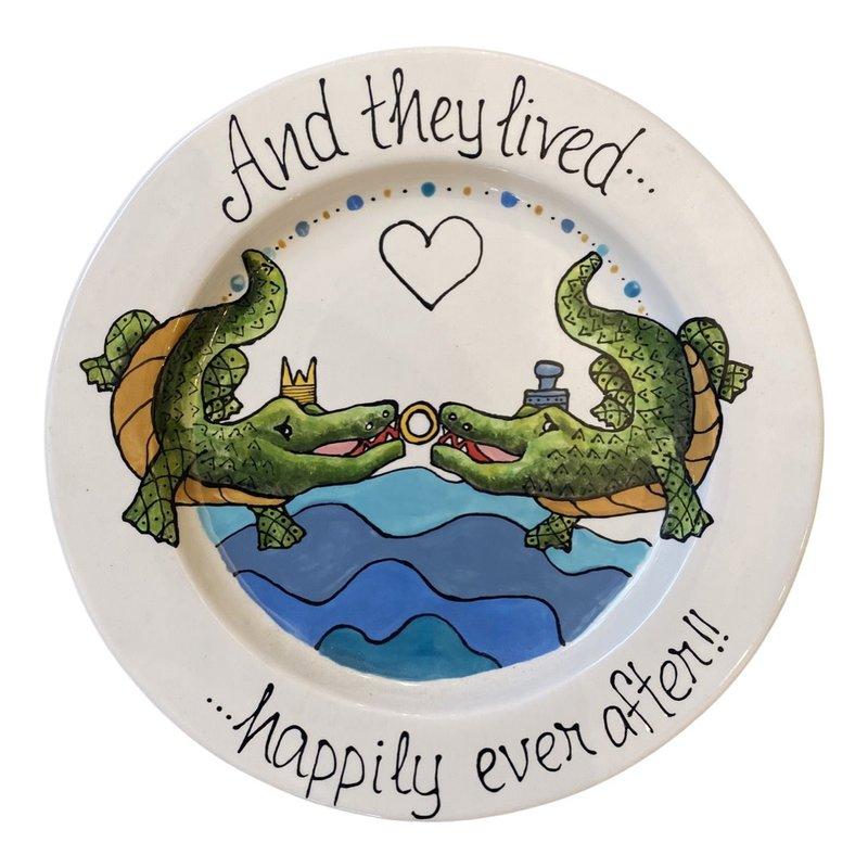 Jan Salzer Jan Salzer Alligator Platter