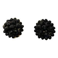 Lisi Lerch Button Czech Black Clip