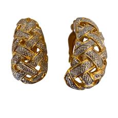 Lordane 2 Tone J Clip Earring 36E6168