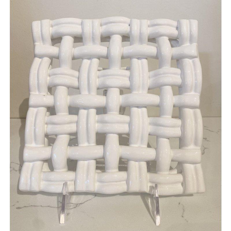 Skyros Designs Square Trivet White