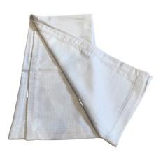 Silk Story Baby Blanket- bamboo rayon- blue