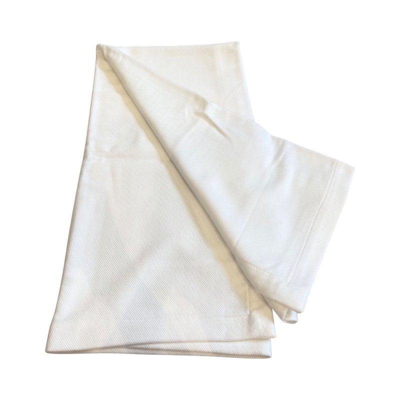 Silk Story Baby Blanket- bamboo rayon- white