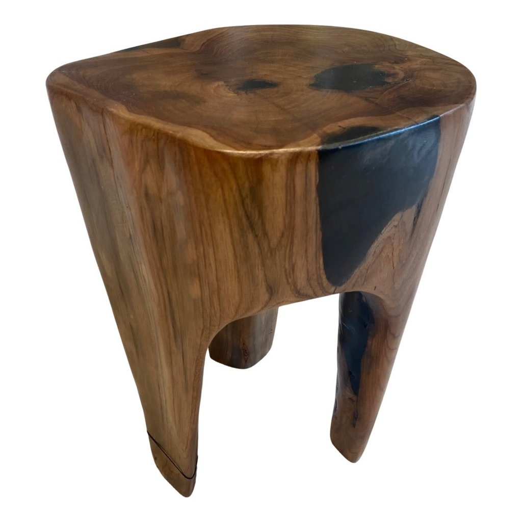 Zodax Balu Rucu Wood Round Stool