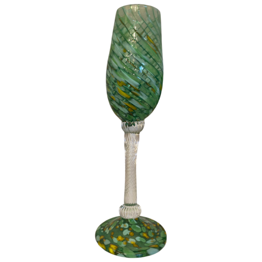 Ridge Walker Glass Champagne Flutes
