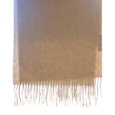 Silk Story Cashmere Scarf- sand