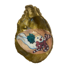 Nancy Blouin Mr. Bingle Decoupage Oyster