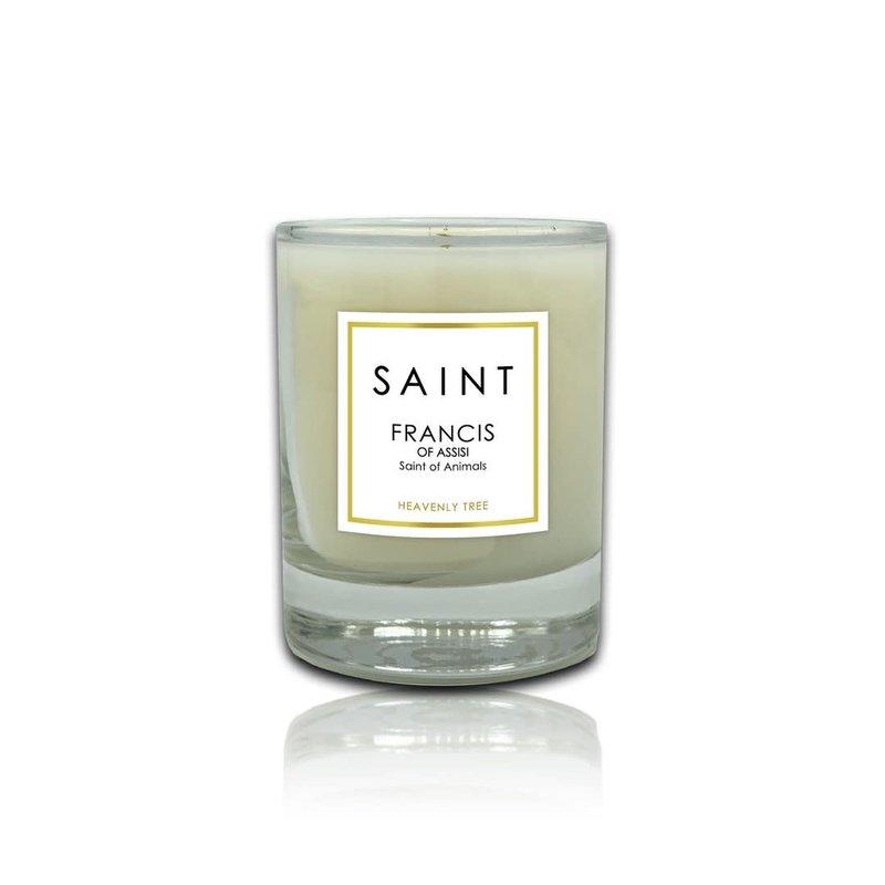 Saint Saint Francis of Assisi Small Votive Saint Candle