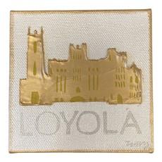 Art Gumbo Loyola Mini Painting