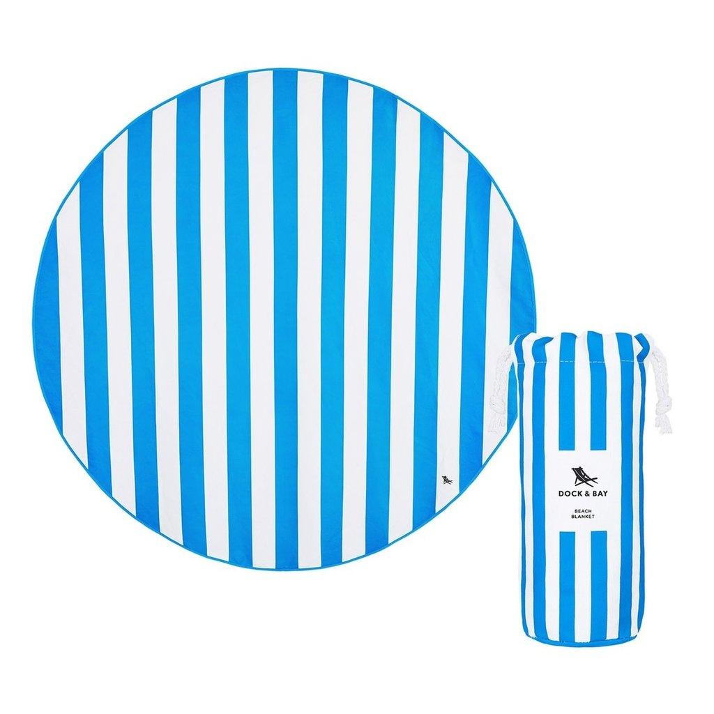 Dock & Bay Bondi Blue Quick Dry Beach Blanket