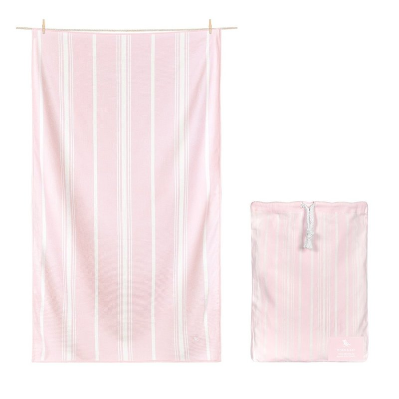 Dock & Bay Peppermint Pink 63x35 Quick Dry Bath Towel