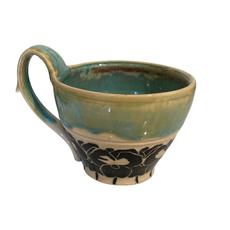 Rachael DePauw Iris Teacup