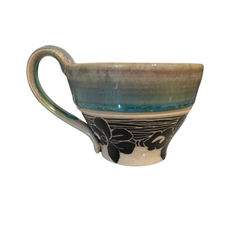 Rachael DePauw Flower Teacup