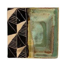 Rachael DePauw Geometric Plate- mini (square)