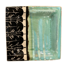 Rachael DePauw Leaf Plate- bread (square)