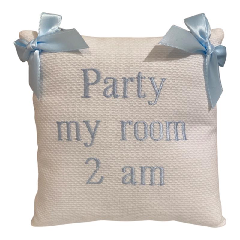 Jan Sevadjian Party My Room 2AM  Door Hanging Pillow