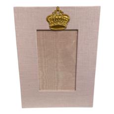 Jan Sevadjian 4x6 Pink Baby Princess Crown Frame (Vertical)