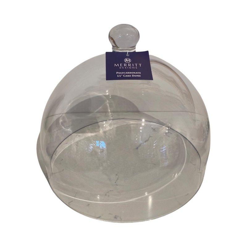 Merritt Polycarbonate Dome Cover 11in Dia. x 8.5 in H