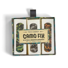 Two's Company Camo Fix 30 Pc Bandages in Gift Box