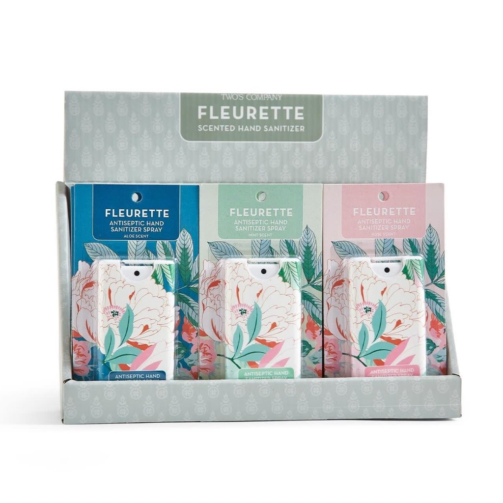 Two's Company Fleurette Scented Hand Sanitizer