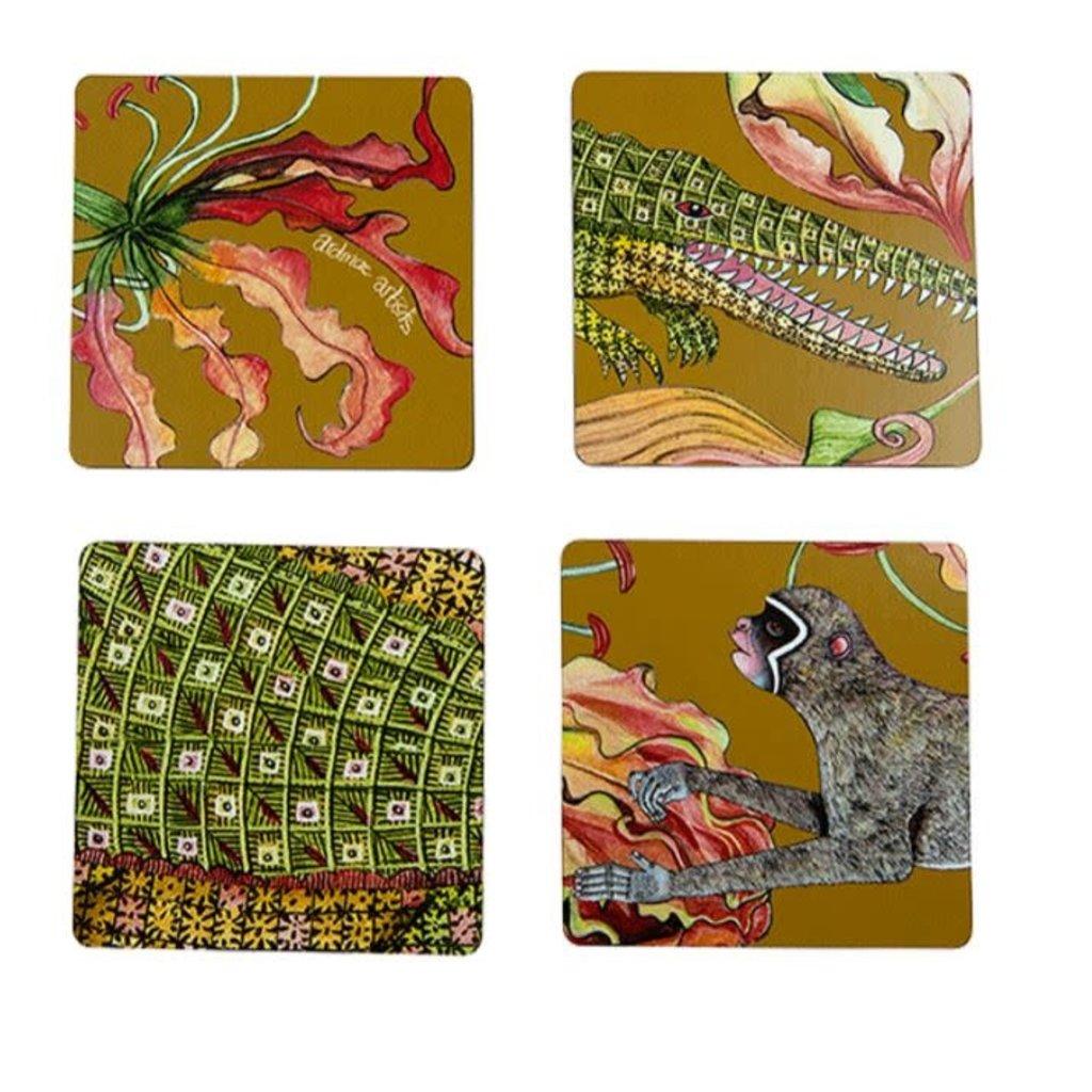 Ngala Trading Flame Lily Crocodile - Coasters Swamp (S/4)