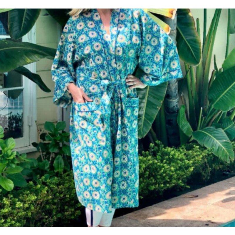 Pacific & Rose Textiles Kimono Robe Bloomsbury