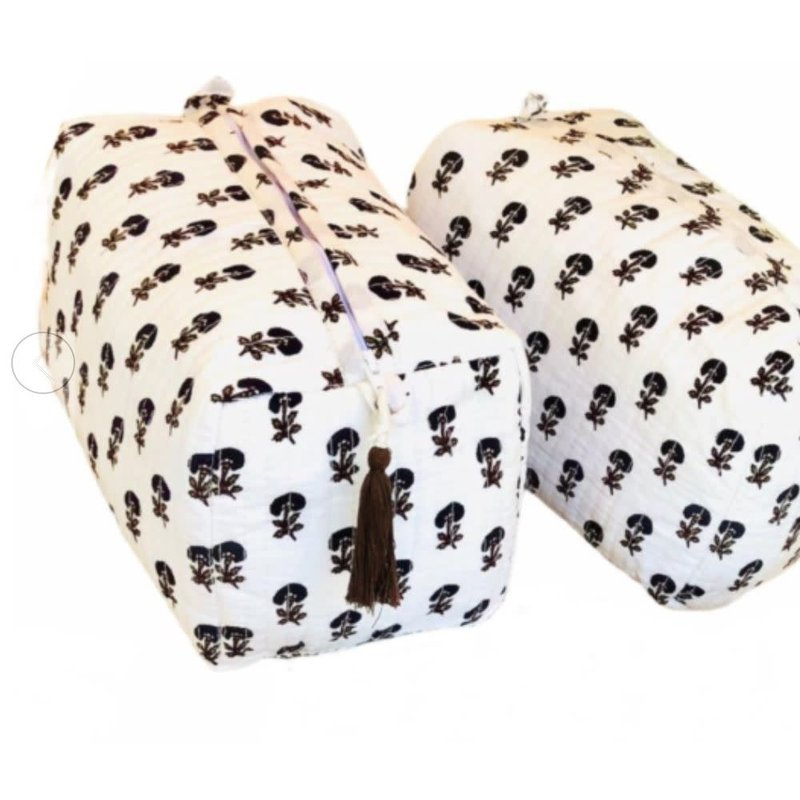 Pacific & Rose Textiles Cosmetic Bag Cotswolds
