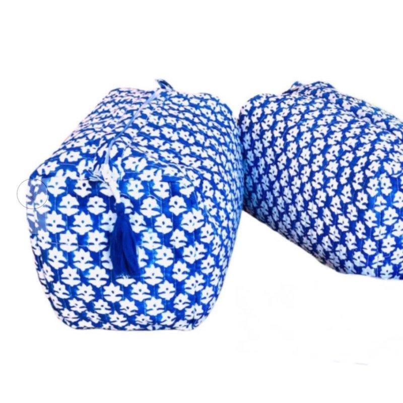 Pacific & Rose Textiles Cosmetic Bag Corfu