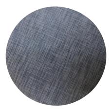 Beatriz Ball Indoor/Outdoor Navy Woven Round Placemat Set of 4