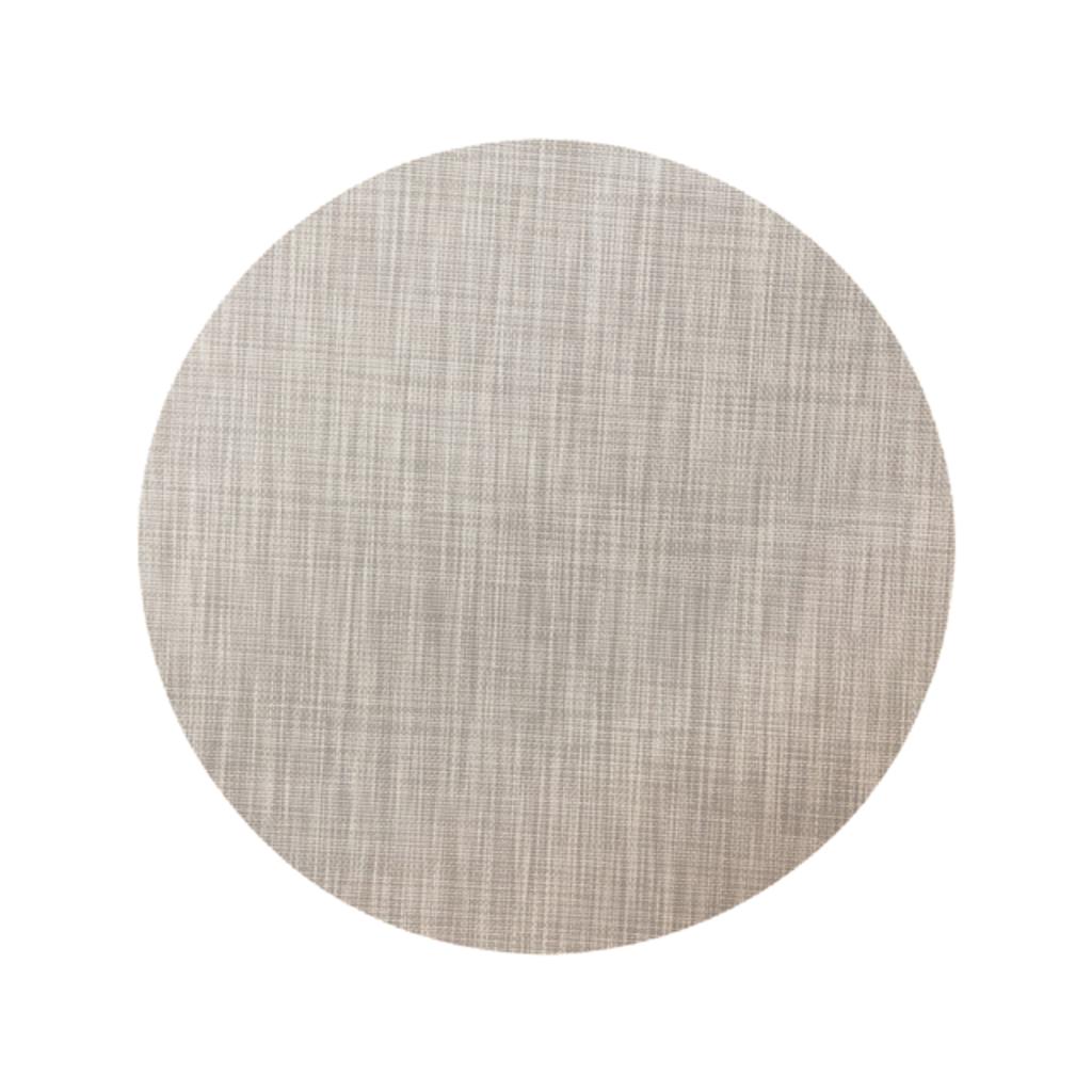 Beatriz Ball Indoor/Outdoor Grey Woven Round Placemat Set of 4