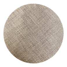 Beatriz Ball Indoor/Outdoor Charcoal Woven Round Placemat Set of 4