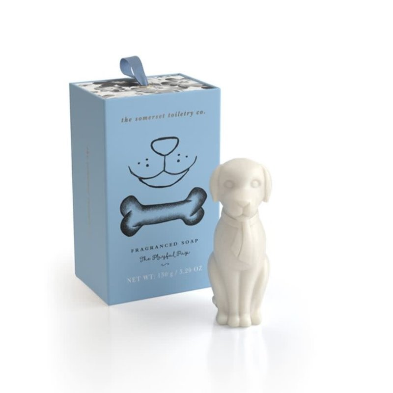 Upper Canada Soap Dog-Shaped Soap