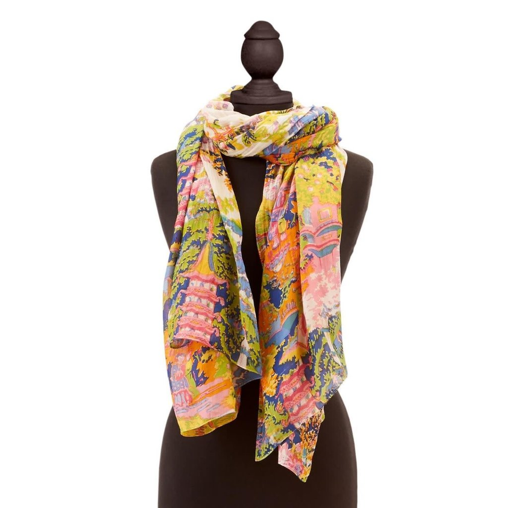 Two's Company Festival Scarf - Viscose/Modal - Designed by One Hundred Stars