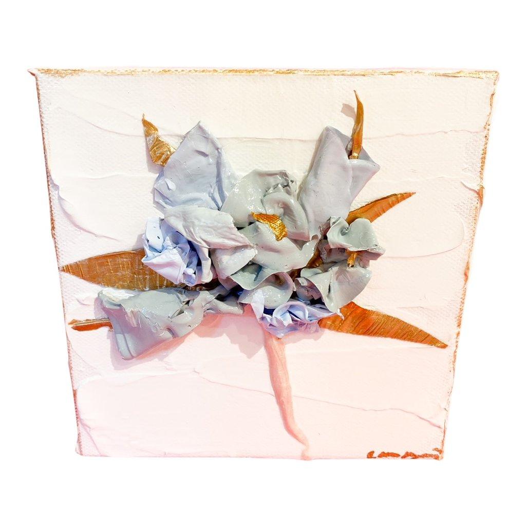 Eden Gorney Forever Flowers 6 x 6 Blue