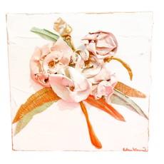 Eden Gorney Forever Flowers 8x8 Light Pink