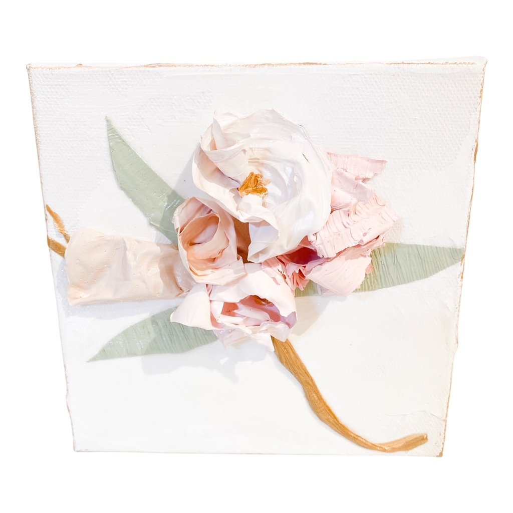 Eden Gorney Forever Flowers 6 x 6 Pink/Light Pink