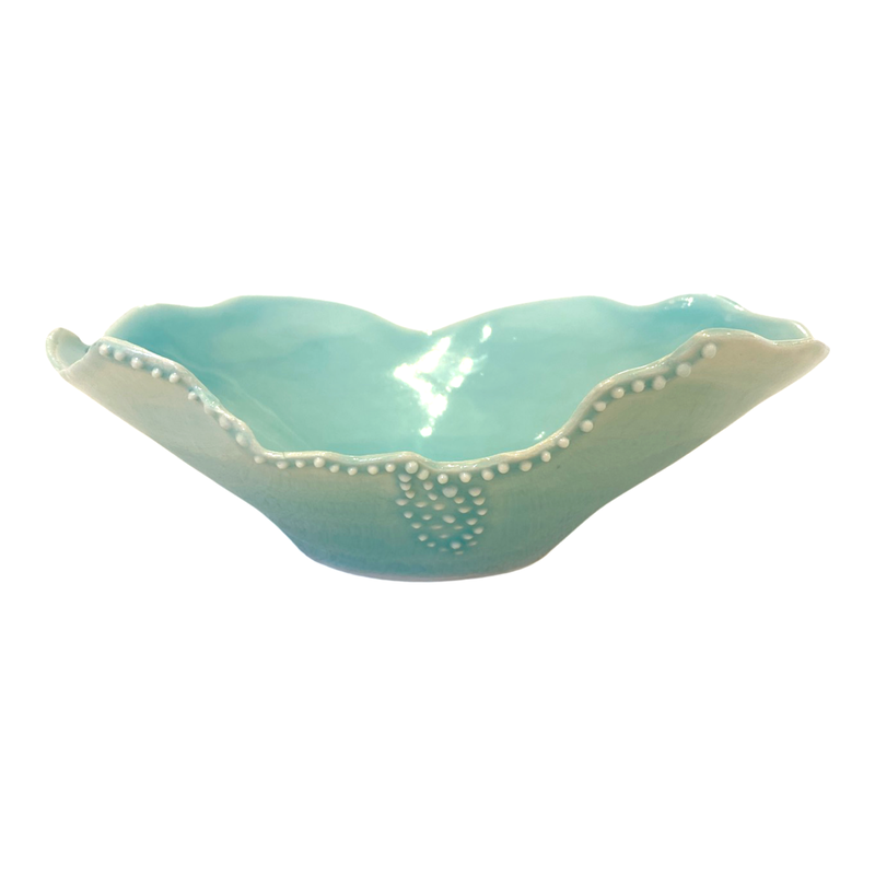 Nellrea Simpson Porcelain Small Bowl with Dots