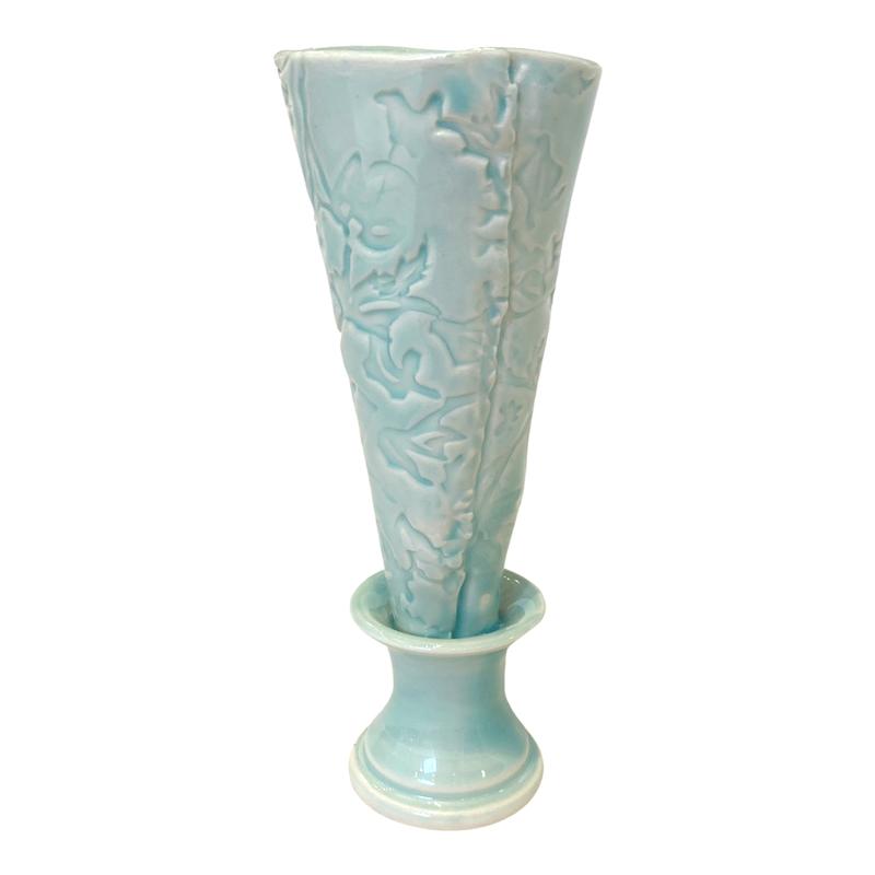 Nellrea Simpson Porcelain Flower Vase