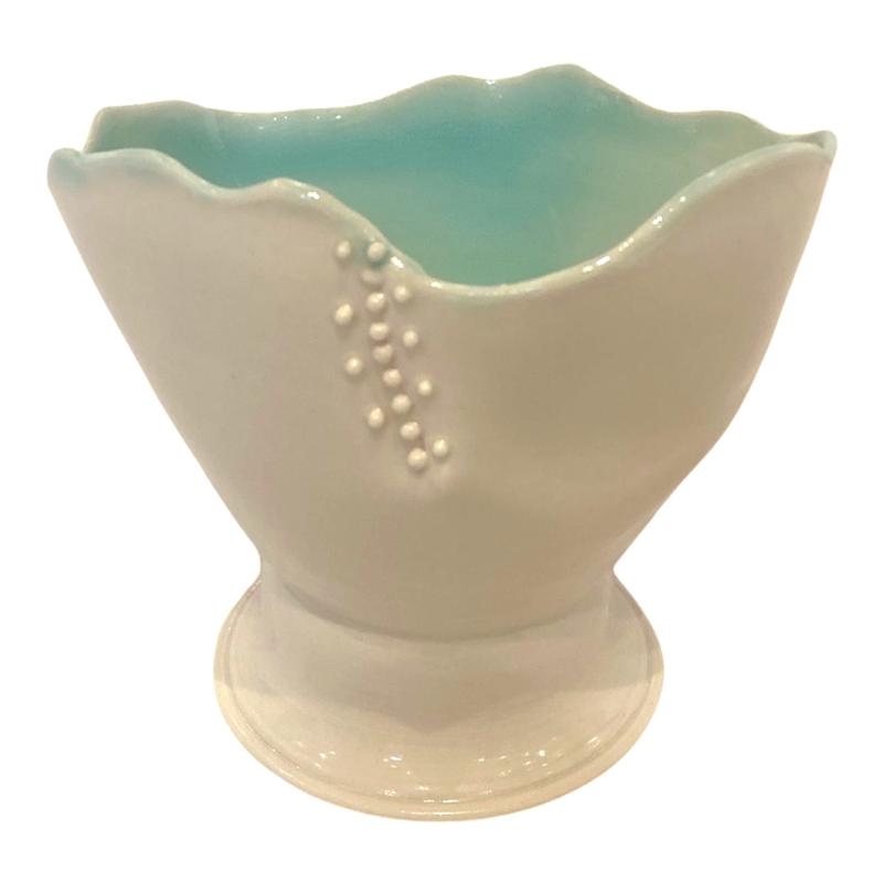 Nellrea Simpson Porcelain Cylinder with Dots