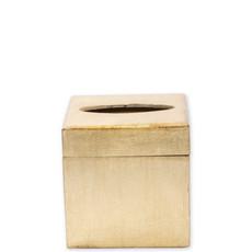 Vietri Florentine Wooden Accessories Gold Tissue Box