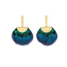 Brackish Earring- Tucket Blue