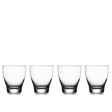 Nambe Vie Double Old Fashioned Glasses Set of 4