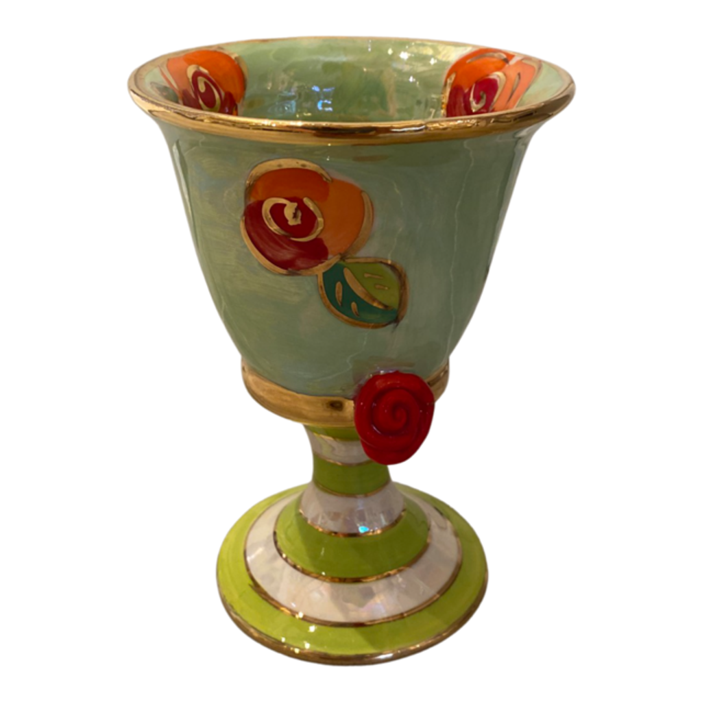 Mary Rose Young Mary Rose Young Goblet Green