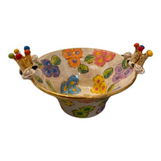 Mary Rose Young Mary Rose Young Small Crowned Edged Serving Bowl