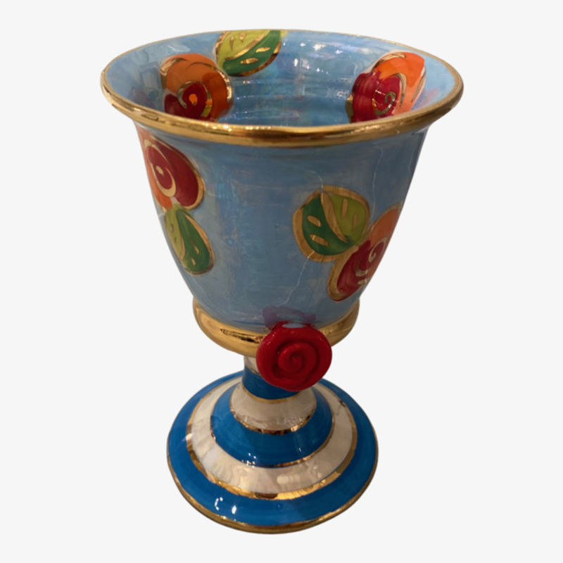 Mary Rose Young Mary Rose Young Goblet Blue
